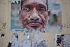 Guerillaphoto (Gary Kinsman) Tags: portrait man london poster beard graffiti mix alley mess ace ripped backstreet e1 spitalfields 2012 eastend eastlondon jeromestreet guerillaphoto canon28mmf18 cityfringe canoneos5dmarkii canon5dmkii