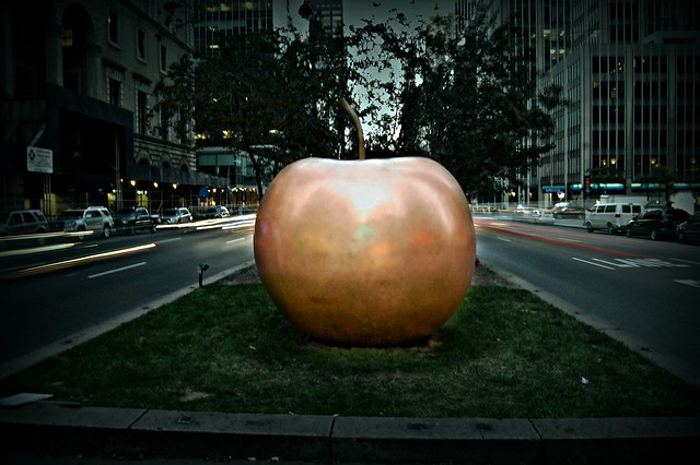 Big Apple in the Big Apple