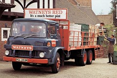 Bedford Six Wheelers (Bournemouth 71B / 70F) Tags: truck bedford transport lorry commercial load carry haulage