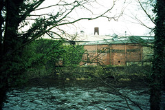 Mill (Saturated Imagery) Tags: mill film rollei 35mm river iso200 retro german praktica otley riverwharfe filmslr vivitar28mmf25 epsonv500 prakticatl5b rolleidigibasecn200 unmaskfilm