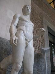 Doriforo di Policleto (Minerva's_Owl) Tags: napoli museo achille pompei lancia simmetria canone armonia proporzioni doriforo policleto chiasmo policleteo