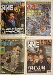 the nme is 60 (bruciebonus) Tags: classic march mar morrissey cover thecure covers 365 nme 2012 johnpeel stoneroses 60thanniversary 366 project365 60yearsold newmusicalexpress 2012366photos