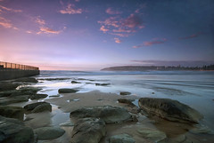 Sunrise over Manly