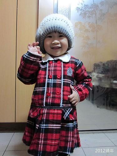 2012過年-IMG_3802-冬冬戴帽子