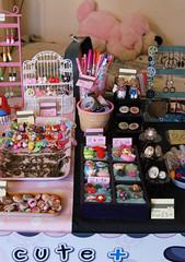Close-up 2 - my stall (Capt. arkaya) Tags: cute stall kawaii setup curious steampunk trader arkaya