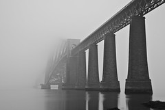 Forth Bridge Fog 24 March 2012