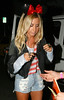 Ashley Tisdale arrives at Perez Hilton's Mad Hatter Tea Party Birthday Celebration in Hollywood Hollywood, California