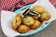 Fried Oreos (Kitchen Life of a Navy Wife) Tags: snack oreos fried