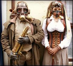 Present Arms (Cul 9) Tags: whitby wgw digitalcameraclub steampunks whitbygothweekend2012