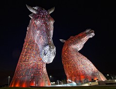 Kelpies (JOHN CRAWFORD2011) Tags: kelpiesgrangemouthscotland