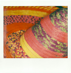 Sombrero (ilaria149) Tags: colors polaroid fiesta mexican sombrero colori cappello messico impossibleproject