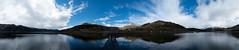 lochgoilhead (ddashksponds) Tags: sea sky panorama mountains water clouds scotland dock pontoon