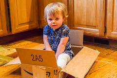 Don't Bother Buying Expensive Toys.... (Jill Clardy) Tags: kitchen amazon carton may2016visit 201605064b4a16562