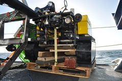 Wally on deck waiting to be deployed at Barkley Canyon (Ocean Networks Canada) Tags: wally nautilus barkleycanyon wiringtheabyss2016 abyss16
