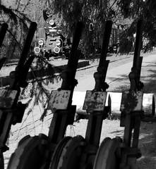 Old Signalbox (roomman) Tags: world park old red blackandwhite bw white black history nature monochrome beautiful station comfortable yard forest train vintage dark landscape restaurant hotel design nationalpark open natural box good top air platform engine style poland polska railway cargo best class goods historic steam number national end bialowieza bandw accommodation signal freight tender openair steamtrain lever protect 139 tk protected stellwerk levers 138 pkp 2016 shunting tkt białowieża shunt reser djungle towarowa tk48 carska tkt48 tk48138 tkt48138