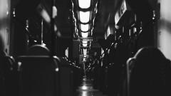 (BenjaminHerbst) Tags: light bw blur night train germany 50mm sony olympus f18 zuiko augsburg a7s