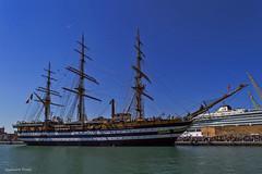 """""""Non chi comincia ma quel che persevera"""" (federicaconti12) Tags: marina italia sunday nave porto scuola ancona amerigo veliero vespucci"""