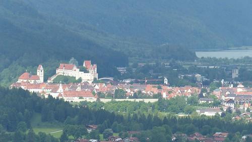Füssen mit Schlossburg