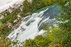 Rheinfall Rhine Falls (mahesh.kondwilkar) Tags: switzerland zurich avalon rheinfall rhinefalls avalonwza