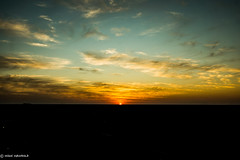 Sunset in Namibia (Air-Mikel's Photographs) Tags: africa travel sunset sky amazing cool namibia colourfull