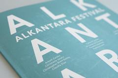 Azo Sans in use | Visual Identity and Graphic Design by Ana Teresa Ascenso. (Rui Type Abreu) Tags: festival sans azo alkantara rtypography