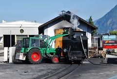 Jenbach 23.09.2011 (The STB) Tags: eisenbahn bahn narrowgauge dampflokomotive steamlocomotive jenbach schmalspurbahn club760 zillertalbahn 83076 zillertalrailway jz83