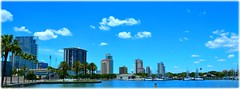 St Petersburg, Florida (lagergrenjan) Tags: st petersburg florida downtown condos boats
