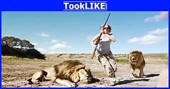 สิงโตแก้แค้นมนุษย์ผู้ชอบล่า
