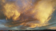 Amazing clouds (Quique CV) Tags: sky sun storm sol valencia yellow clouds amazing cielo nubes tormenta 2016 pobladevallbona