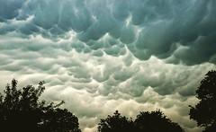 Mammatus clouds (AieshaB) Tags: sky weather clouds mammatus mammatusclouds