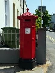 Cheltenham, Gloucestershire (Oxfordshire Churches) Tags: cheltenham gloucestershire panasonic lumixgh3 england uk unitedkingdom johnward royalmail postboxes letterboxes mailboxes pillarboxes vr pb100602 gl5010 jwpenfold penfold cochranegroveco hexagonal victorian listedbuildings gradeiilisted