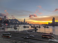Sunset from the terrace (NL60D) Tags: hongkong skyscrapers photography travel travelphotography asia northasia colourful travels wanderlust beautifulimages ngc china greaterchina landscape