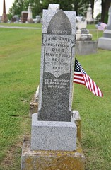 0U1A8118 Knoxville IA - Graceland Cemetery - INGLEFIELD AYRES (colinLmiller) Tags: monument knoxville headstone tombstone iowa gravestone ayres gracelandcemetery 2016 inglefield