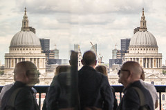 Time to reflect (marktmcn) Tags: from new house reflection london st skyline modern view cathedral tate pauls double reflected dome twice extension nikkor domes 28300mm d610 swtich