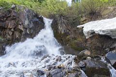 Snowbird Snowmelt (aaronrhawkins) Tags: snowmelt snowbird waterfall rocks hike mountain snow summer ice cold splash resort utah saltlakecity water cool refreshing aaronhawkins