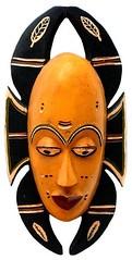 10Y_0921 (Kachile) Tags: art mask african tribal côtedivoire primitive ivorycoast gouro baoulé nativebaoulémasksaremainlyanthropomorphicmeaningtheydepicthumanfacestypicallytheyarenarrowandfemininelookingincomparisontomasksofotherethnicitiesoftenfeaturenohairatallbaouléfacemasksaremostlyadornedwithvarioustrad