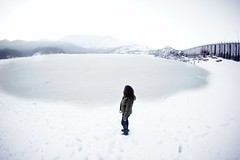 14/365(+1) (Luca Rossini) Tags: portrait italy mountain lake snow ice project landscape sony fisheye adapter 365 16mm f28 abruzzo appennini lagodellamontagnaspaccata nex7 3651daysofnex7