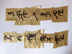 Puzzle (Dr Case) Tags: case puzzle calligraphy mystyleisrocksolid butitflowslikefluid