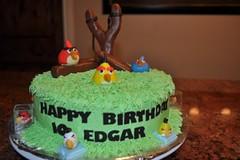 Angry Birds Cake by Vicki H