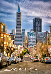 The Streets of... (CEBImagery.com) Tags: sanfrancisco california street urban cityscape district hill montgomery financial telegraph hdr yabbadabbadoo tonemapped