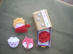 matchbox-pp-personagens (Veluarts Atelie) Tags: felt príncipe feltro aniversário nascimento pequeno ímãs personagens lembrancinhas fieltro