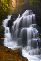 Sylvia Falls (-yury-) Tags: mountains nature water landscape waterfall australia bluemountains falls nsw valleyofthewaters sylviafalls