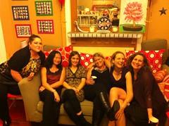 Danica, Mimi, Karin, Christine, Kate and Heather