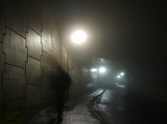 WHAT'S THE STORY...BIG TAM? (kenny barker) Tags: winter mist fog night self dark lumix scotland tunnel story sincity falkirk stealingshadows saariysqualitypictures daarklands panasonicgf1 kennybarker