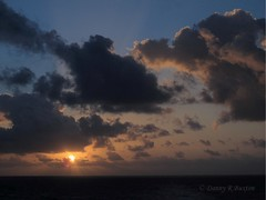 Morning Drama (Danny Buxton) Tags: cruise sunrise canon landscape caribbean 2012 canon sea at g12