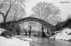 Alamanou (kzappaster) Tags: bridge winter bw snow samsung greece pancake 16mm larissa ifn stonebridge nx thessaly aghia mirrorless alamanou nx100 samsungnx100 compactsystemcamera 16mmf24
