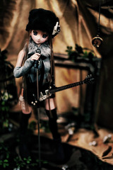 Rock !!. (BorderLine1263) Tags: canon doll sigma  dd  dollfiedream 50mmf14exdghsm 5dmark   06