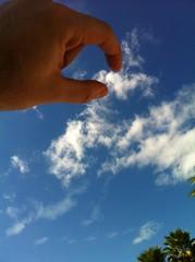 I want that cloud (danielcgold) Tags: sky cloud hand pick