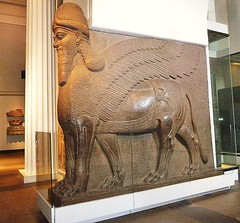 five legs (helenoftheways) Tags: uk sculpture london history freeassociation statues britishmuseum antiquity wingedbull fivelegs neoassyrian