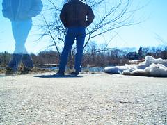 301 | 365 Rewind | Turn Around (DavidNewEngland) Tags: gay portrait selfportrait man beard ghost butt jeans leatherjacket saltandpepper project365 davidsullivan davidnewengland 365rewind
